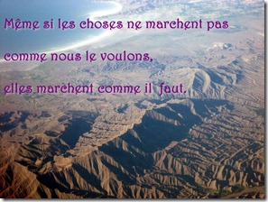 Les choses marchent